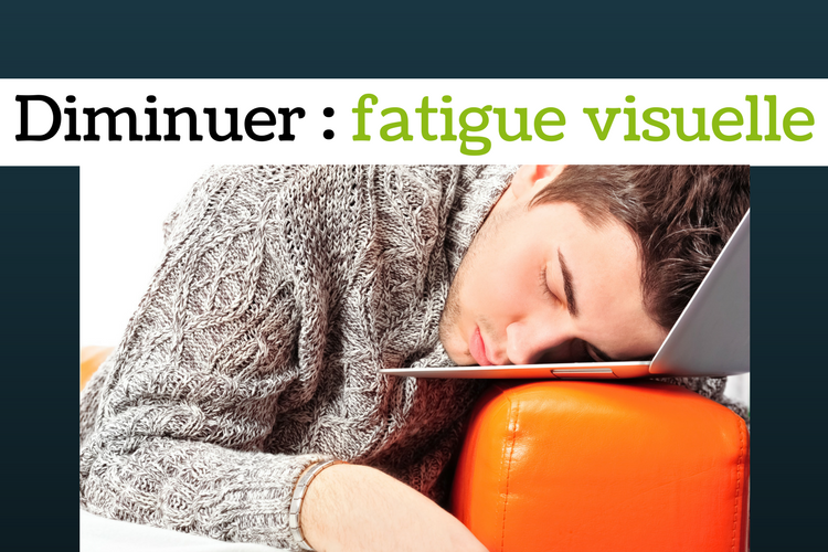 Poker en ligne : Comment diminuer la fatigue visuelle