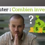 Débuter en sng jackpot _ Combien investir _