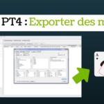 Exporter mains PT4