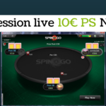 Session live - 10€ PS N°1