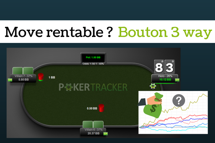 Move le plus rentable au bouton en 3 way sng jackpot