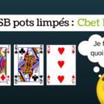 HU SB Cbet Flop pots limpés - sng jackpot