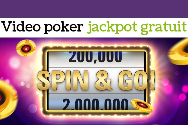Video poker jackpot gratuit _ démonstration