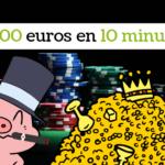 cochon et magot et 8000 euros gagnés en sit and go jackpot sur un x1000 en 10 euros