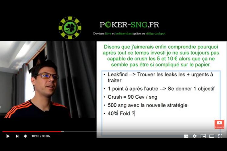 Cours de poker en vidéo